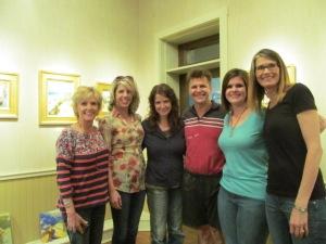 Karen, Deltah, Holley, Colley, Lauren (me) and Janice