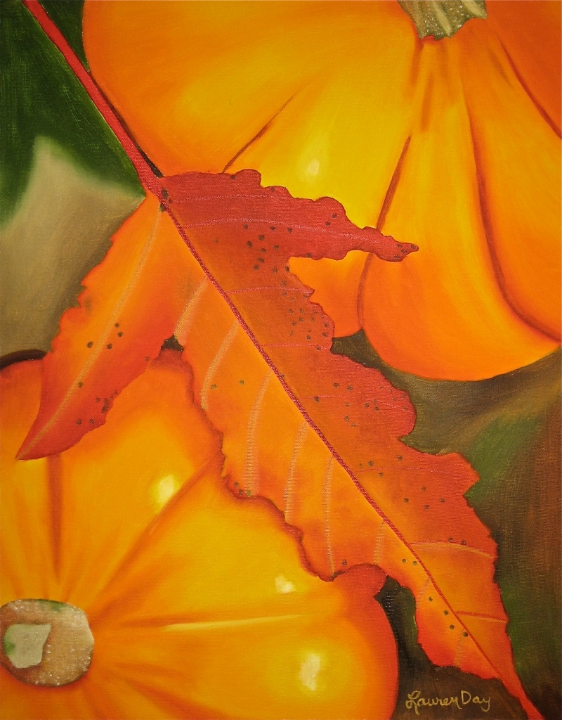 Autumn; 16x20 oil on canvas; private collection