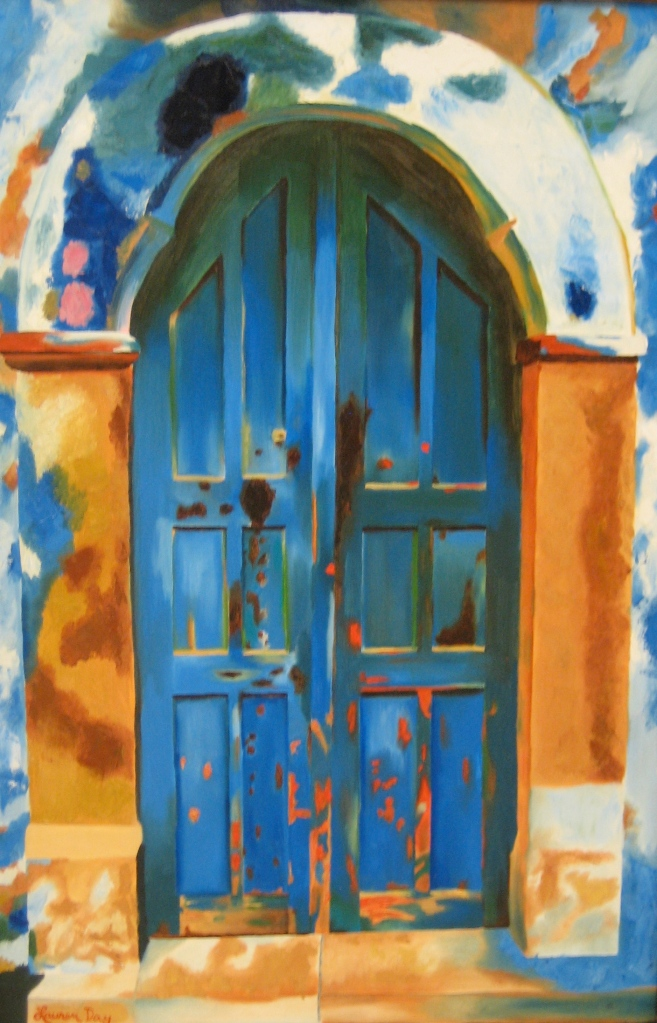 The Doorway; 24x36 oil on canvas; SOLD