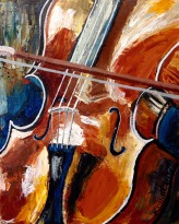 lauren spires fine art_cello painting