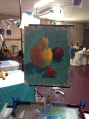 Nancy's still life demo - finished!