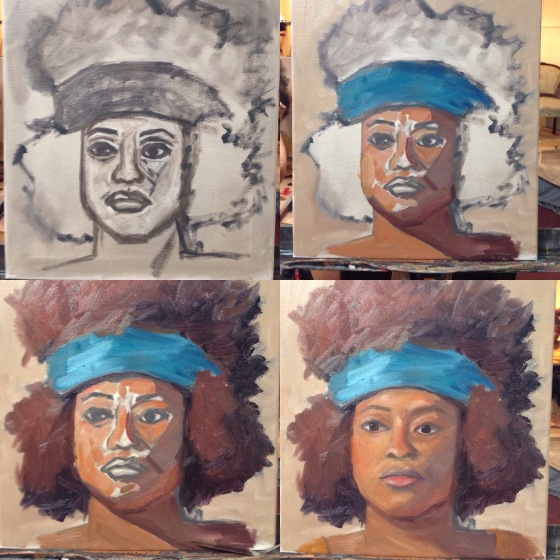 Step-by-step progression of my study