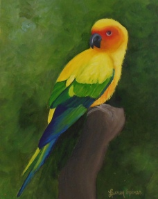 Mango; 8x10 oil on canvas