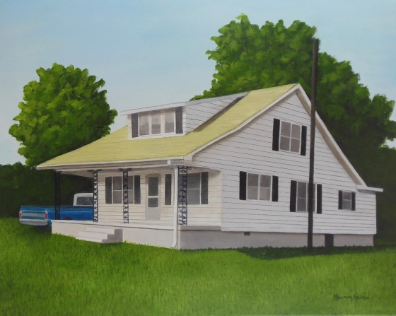 The Old Homeplace; 16x20 oil on canvas
