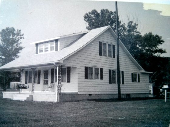 Reference photo used for The Old Homeplace. The Spires home in its new location.