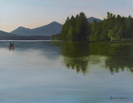 Escape; 11x14 oil on canvas