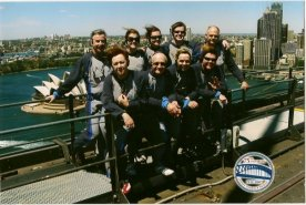 We climbed the Sydney Harbour Bridge - it was so windy but an awesome experience nonetheless!