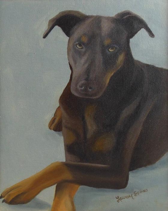 Jasmine; 8x10 oil on canvas